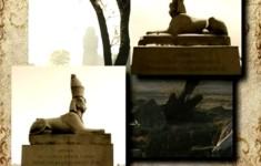 Египетские мотивы. Сфинксы у Академии Художеств
