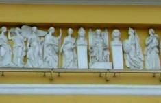 Городская скульптура. Скульптуры зданий Сената и Синода