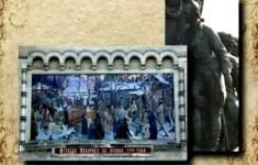 Памятники. Памятник Екатерине Второй. Сподвижники императрицы