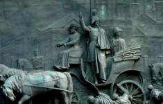 Памятники. Скульптурное оформление памятника Николаю Первому