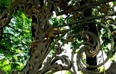 Ограды. Решетка Сада имени 9 Января
