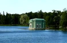 Гатчина. Остров Любви и павильон Венеры