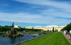 Парки и сады. Верхний сад Петергофа