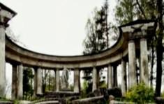 Павловск. Колоннада Аполлона