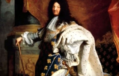 Французский король Людовик XIV. Король-солнце
