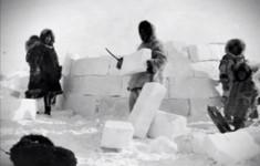 Жилище древних эскимосов Чукотки