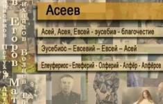 Асеев