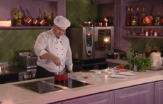 Морепродукты в соусе «Горгонзола». Жареная семга под сливочно-горчичным соусом