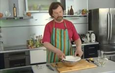 Ростбиф. Капустный салат