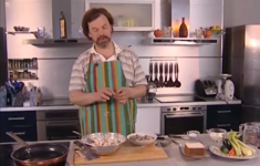 Овощи в тесте «Темпура» с креветками