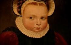 Изак Ван Сваненбюрг. Портрет трехлетней девочки