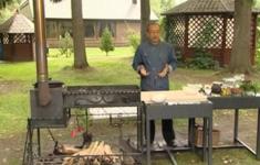 Нарын с конской колбасой