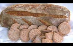 Хлеб на молодой закваске. Крекеры