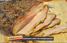 Копченое мясо по-монреальски. Сэндвич с мясом по-монреальски