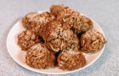 Шоколадное печенье. Овсяное печенье с курагой и кокосом. Брауни