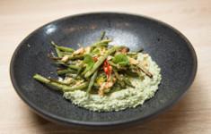 Хачапури лайт. Пхали с фасолью. Свекольная маргарита