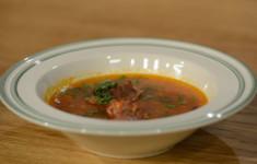 Кубдари. Суп харчо. Смузи по-грузински