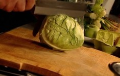 Картофельная запеканка Гратен. Капустный салат