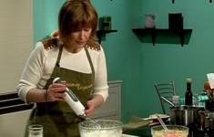 Суп-пюре из спаржи. Тарталетки со спаржей и козьим сыром. Лимонный мусс с белым шоколадом