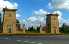 Египетские мотивы. Египетские ворота в Царском Селе