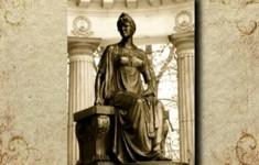 Памятники. Павловск. Памятник Марии Федоровне в Павильоне Росси