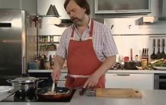 Макароны по-итальянски с соусом из морепродуктов