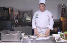Пирог «Страсбургский». Закуска «Сельдь с яйцом»