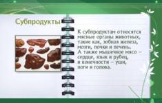 Субпродукты