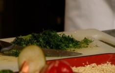 Салат из овощей гриль по-израильски