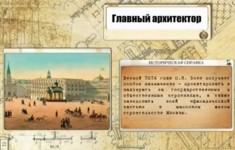 Осип Бове. Восстановление Москвы