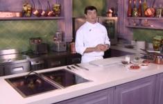 Филе говядины «Турнедо» с фуа-гра. Салат «Пасьон»