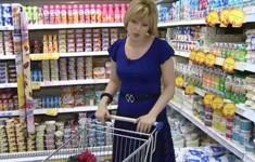 Продукты покупает Елена Ищеева