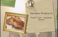 Куриные грудки с медовой корочкой