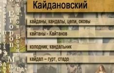 Кайдановский